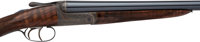 Cased David McKay Brown Trigger-Plate Action Double Barrel Shotgun
