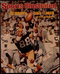 Football Collectibles:Photos, 1976 Lynn Swann Presentational Oversized Sports Illustrated DisplayPiece....