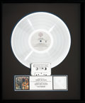 Music Memorabilia:Awards, Van Halen Fair Warning RIAA Hologram Platinum Record SalesAward (Warner Bros. HS 3540, 1981). ...