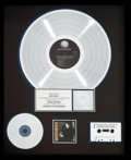 Music Memorabilia:Awards, Don Henley The End of the Innocence RIAA Hologram PlatinumRecord Sales Award (Geffen GHS 24217, 1989)....