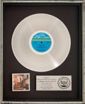 Music Memorabilia:Awards, Kool & The Gang Ladies' Night RIAA Platinum Record SalesAward (De-Lite DSR-9513, 1979). ...