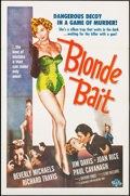 "Movie Posters:Bad Girl, Blonde Bait (Associated Film, 1956). One Sheet (27"" X 41""). Bad Girl.. ..."
