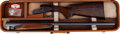 Shotgun:Double Barrel, Cased Browning B-SS Double Barrel Shotgun....