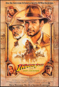 "Movie Posters:Action, Indiana Jones and the Last Crusade (Vintage Magazine Co., 1989).Magazine One Sheet (27"" X 40"") Advance SS. Action.. ..."