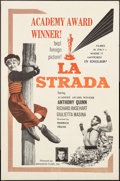 """Movie Posters:Foreign, La Strada (Brandon Films, R-1960s). One Sheet (27"""" X 41""""). Foreign.. ..."""