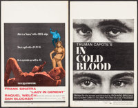 """Lady in Cement & Other Lot (20th Century Fox, 1968). Window Cards (2) (14"""" X 22""""). Crime. ... (Total: 2 It..."""