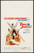 "Movie Posters:Academy Award Winners, Tom Jones (United Artists, 1963). Window Card (14"" X 22""). Academy Award Winners.. ..."