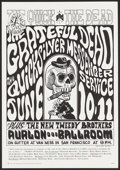 "Movie Posters:Rock and Roll, The Grateful Dead at The Avalon Ballroom (Family Dog, 1966).Concert Poster No. 12-2 (14"" X 20"") 2nd Printing. Rock and Roll..."