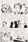 Original Comic Art:Splash Pages, Dear Beatrice Fairfax Page 2 Original Art (Standard,1950-51)....