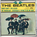 Music Memorabilia:Recordings, The Beatles 4 By The Beatles Sealed EP (Capitol R-5365,1965)....