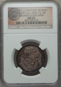U.S. Presidents & Statesmen, (1892) Grover Cleveland Campaign Medal, DeWitt GC-1892-13, MS63NGC. ...