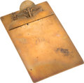 Miscellaneous Collectibles:General, 1948 Indianapolis Motor Speedway Clipboard. ...