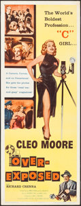 "Movie Posters:Bad Girl, Over-Exposed (Columbia, 1956). Insert (14"" X 36""). Bad Girl.. ..."