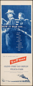 """Movie Posters:Western, 3:10 to Yuma (Columbia, 1957). Insert (14"""" X 36""""). Western.. ..."""