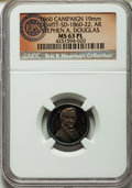 U.S. Presidents & Statesmen, 1860 Stephen A. Douglas Campaign Medal, DeWitt SD-1860-22, MS63Prooflike NGC. ...