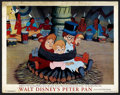 "Movie Posters:Animated, Peter Pan (RKO, 1953). Lobby Card (11"" X 14""). Animated. ..."