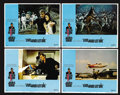 """Movie Posters:James Bond, Live and Let Die (United Artists, 1973). Lobby Cards (4) (11"""" X 14""""). James Bond. ... (Total: 4 Items)"""