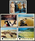 """Movie Posters:Academy Award Winner, Lawrence of Arabia (Columbia, 1962). Lobby Cards (2) and Deluxe Photographs (3) (11"""" X 14""""). Academy Award Winner. ... (Total: 5 Items)"""