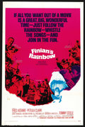 "Movie Posters:Fantasy, Finian's Rainbow (Warner Brothers, 1968). One Sheet (27"" X 41"").Fantasy. ..."