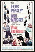 "Movie Posters:Elvis Presley, Viva Las Vegas (MGM, 1964). One Sheet (27"" X 41""). Elvis Presley...."