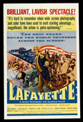 "Movie Posters:Historical Drama, Lafayette (Maco, 1961). One Sheet (27"" X 41""). Historical Drama. ..."