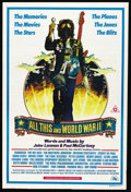 "Movie Posters:Documentary, All This and World War II (20th Century Fox, 1976). Australian One Sheet (27"" X 40""). Documentary. ..."