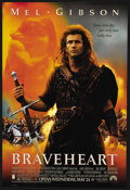 "Movie Posters:Action, Braveheart (Paramount, 1995). One Sheet (27"" X 40"") SS. Action. ..."