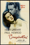 """Movie Posters:War, The Conspirators (Warner Brothers, 1944). One Sheet (27"""" X 41""""). War. ..."""