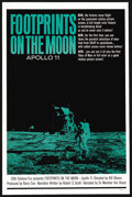 "Movie Posters:Documentary, Footprints on the Moon: Apollo 11 (20th Century Fox, 1969). One Sheet (27"" X 41""). Documentary. ..."