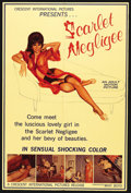 "Movie Posters:Sexploitation, The Scarlet Negligee (Crescent International Pictures, 1968). OneSheet (28"" X 42""). Sexploitation. ..."