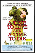 "Movie Posters:Drama, A Time to Love and a Time to Die (Universal International, 1958). One Sheet (27"" X 41""). Drama. ..."
