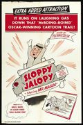 "Movie Posters:Animated, Mr. Magoo: Sloppy Jalopy (Columbia, 1952). One Sheet (27"" X 41"").Animated...."