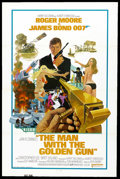 "Movie Posters:James Bond, The Man With the Golden Gun (United Artists, 1974). One Sheet (27"" X 41"") Tri-Folded. James Bond. ..."