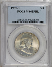 1952-S 50C MS65 Full Bell Lines PCGS. PCGS Population (200/26). NGC Census: (13/1). Numismedia Wsl. Price for NGC/PCGS c...
