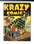Golden Age (1938-1955):Funny Animal, Krazy Komics #5 (Timely, 1943) Condition: FN+....