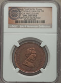U.S. Presidents & Statesmen, (1864) G.B. McClellan Campaign Medal, DeWitt GMcC-1864-20 --Obverse Spot Removed -- NGC Details. Unc. ...