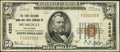 National Bank Notes:Oklahoma, Muskogee, OK - $50 1929 Ty. 1 The First NB & TC Ch. # 4385. ...