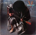 Music Memorabilia:Autographs and Signed Items, Stevie Ray Vaughan In Step Signed LP (Epic OE 45024,1989)....