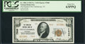 National Bank Notes:Tennessee, Chattanooga, TN - $10 1929 Ty. 2 The Hamilton NB Ch. # 7848. ...