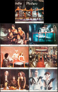"Movie Posters:Rock and Roll, The Rocky Horror Picture Show (20th Century Fox, 1975). Lobby Cards(7) (11"" X 14""). Rock and Roll.. ... (Total: 7 Items)"
