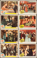 """Movie Posters:War, The White Cliffs of Dover & Other Lot (MGM, 1944). Lobby Cards(8) (11"""" X 14""""). War.. ... (Total: 8 Items)"""