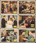 "Movie Posters:Drama, Young Mr. Lincoln & Other Lot (20th Century Fox, 1939). Lobby Cards (6) (11"" X 14""). Drama.. ... (Total: 6 Items)"