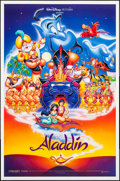 "Movie Posters:Animation, Aladdin (Buena Vista, 1992). One Sheet (27"" X 41"") DS. Animation.. ..."