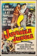 "Juvenile Jungle (Republic, 1958). One Sheet (27"" X 41"") Flat Folded. Crime"