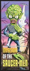"Movie Posters:Science Fiction, Invasion of the Saucer-Men (Digital Masterpiece, 2008) Art Print(10"" X 24""). Science Fiction.. ..."