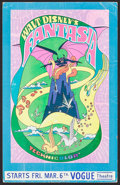"Movie Posters:Animation, Fantasia (Buena Vista, R-1970). Window Card (14"" X 22""). Animation.. ..."