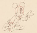 Animation Art:Production Cel, The Brave Little Tailor Mickey Mouse Production Drawing(Walt Disney, 1938)....