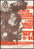 "Movie Posters:Rock and Roll, Quicksilver Messenger Service at The Avalon Ballroom (Family Dog,1966). Concert Poster No. 25 (13.5"" X 20""). Rock and Roll...."