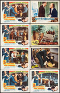 Movie Posters:Film Noir, 5 Against the House & Others Lot (Columbia, 1955). Lobby Cards(23), Spanish Language Lobby Card & Spanish Lobby Card(appro... (Total: 25 Items)