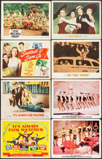 """It's Always Fair Weather & Others Lot (MGM, 1955). Title Lobby Cards (2) & Lobby Cards (14) (11"""" X 14""""..."""